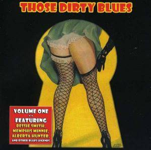 Those Dirty Blues Volume 1 - Cover