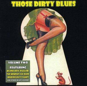 Those Dirty Blues Volume 2 - Cover