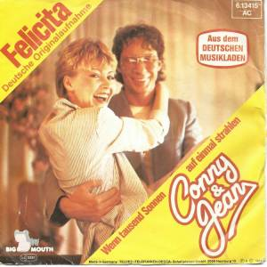 Cover - Conny & Jean: Felicita