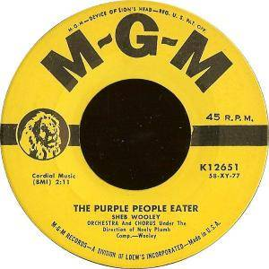 Cover - Sheb Wooley: Purple People Eater, The