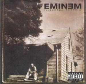 Eminem: Marshall Mathers LP, The - Cover