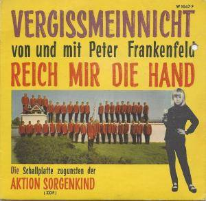 Cover - Peter Frankenfeld: Vergissmeinnicht