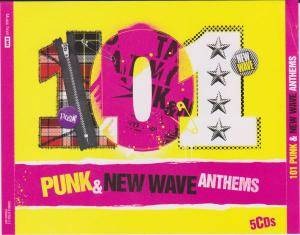 101 Punk & New Wave Anthems - Cover