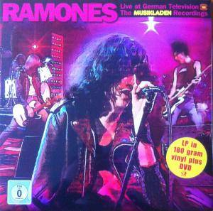 Ramones: Live At German Television - The Musikladen Recordings 1978 - Cover