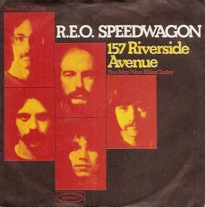 Cover - REO Speedwagon: 157 Riverside Avenue