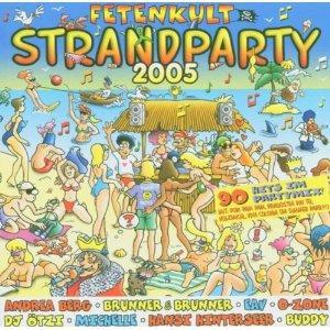 Fetenkult - Strandparty 2005 - Cover