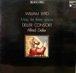 Cover - William Byrd: Mass For Three Voices