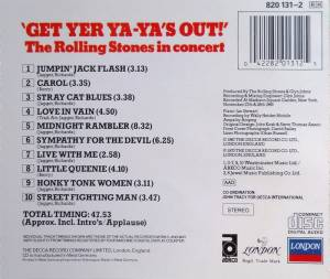 The Rolling Stones: Get Yer Ya-Ya's Out! - The Rolling Stones In Concert (CD) - Bild 2