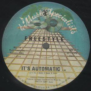 Cover - Freestyle: It's Automatic