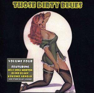 Those Dirty Blues Volume 4 - Cover