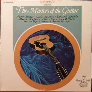 Cover - Alexandre Tansman: Masters Of The Guitar, The
