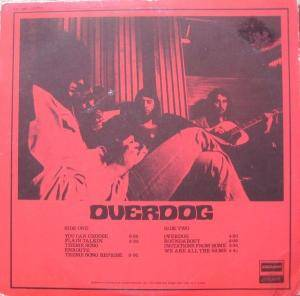 Keef Hartley Band: Overdog (LP) - Bild 2