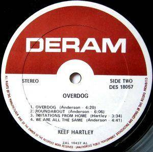 Keef Hartley Band: Overdog (LP) - Bild 6