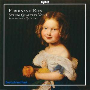 Cover - Ferdinand Ries: String Quartets Vol. 1
