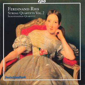 Cover - Ferdinand Ries: String Quartets Vol. 2