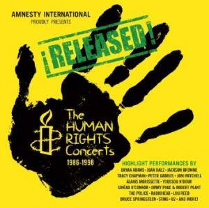 Cover - Bruce Springsteen & The E Street Band: Released! The Human Rights Concerts 1986-1998