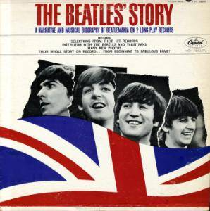 Cover - Beatles, The: Beatle's Story - A Narrative & Musical Biography Of Beatlemania, The