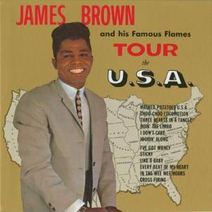 Cover - James Brown: James Brown And His Famous Flames Tour The U.S.A.