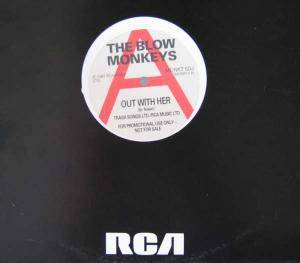 "The Blow Monkeys: Out With Her (Promo-12"") - Bild 1"