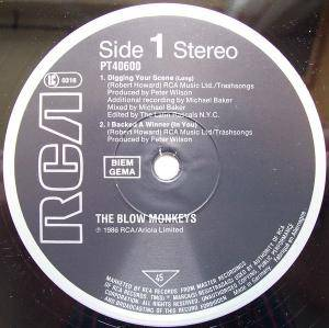 "The Blow Monkeys: Digging Your Scene (12"") - Bild 2"