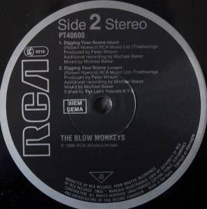 "The Blow Monkeys: Digging Your Scene (12"") - Bild 4"