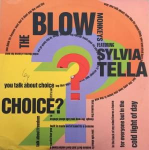 The Blow Monkeys Feat. Sylvia Tella: Choice? - Cover