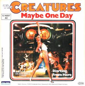 Cover - Creatures, The: Maybe One Day