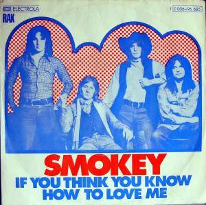 Cover - Smokey: If You Think You Know How To Love Me