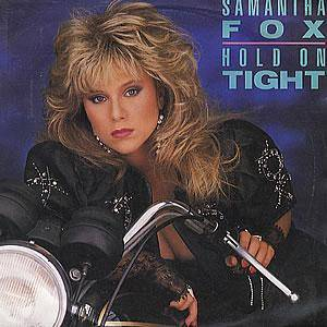 Samantha Fox: Hold On Tight - Cover