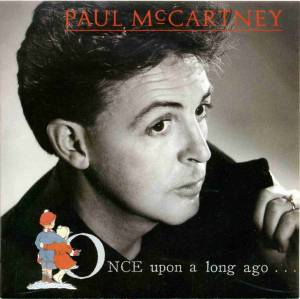Paul McCartney: Once Upon A Long Ago - Cover
