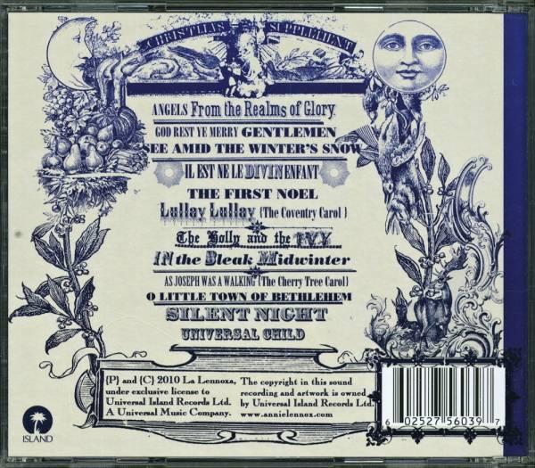 Annie Lennox:A Christmas Cornucopia - CD, 2010