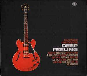 Cover - Frankie Lee Sims: Deep Feeling: 75 Masterpieces By 31 Blues Guitar Heroes