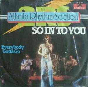 Cover - Atlanta Rhythm Section: So In To You