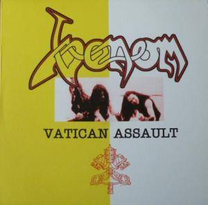 Venom: Vatican Assault - Cover
