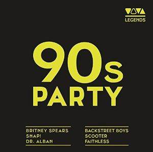 Cover - Dario G.: 90s Party - Viva Legends