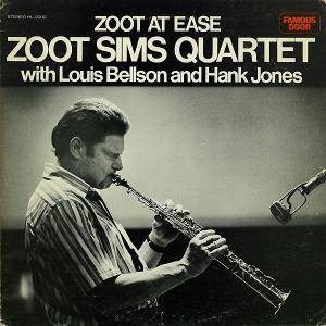 Zoot Sims Quartet: Zoot At Ease - Cover