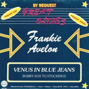 Cover - Frankie Avalon: Venus In Blue Jeans