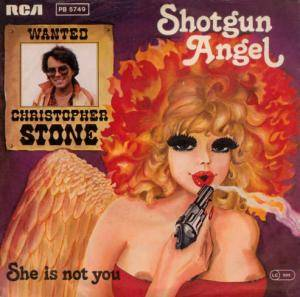 Cover - Christopher Stone: Shotgun Angel