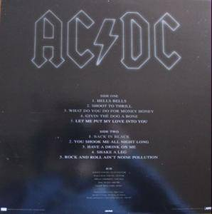 AC/DC: Back In Black (LP) - Bild 4