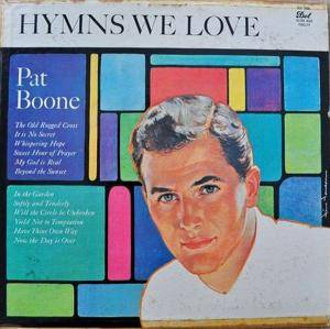 Cover - Pat Boone: Hymns We Love