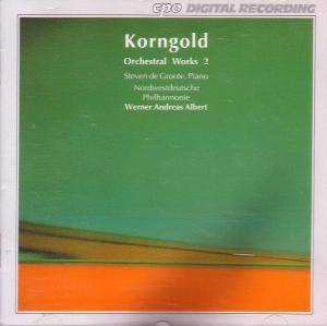 Erich Wolfgang Korngold: Orchestral Works 2 - Cover