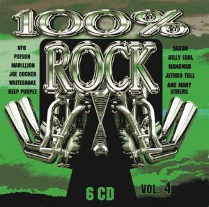 Cover - Bates, The: 100% Rock Vol. 4