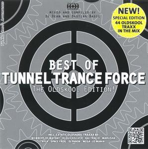 Best Of Tunnel Trance Force - The Oldskool Edition - Cover