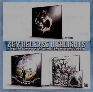 New Release Highlights - Thrilling Albums Out On Century Media Records In September 2011 - Cover