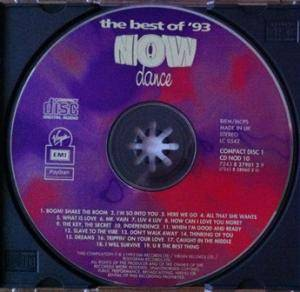 NOW Dance 93 - The Best Of '93 (2-CD) - Bild 3