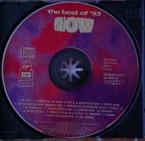 NOW Dance 93 - The Best Of '93 (2-CD) - Bild 4