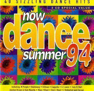 NOW Dance 94 - Summer 94 - Cover