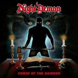 Night Demon: Curse Of The Damned - Cover