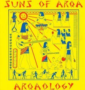 Cover - Suns Of Arqa: Arqaology