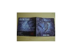 Iron Fire: Demo 2003 - Cover
